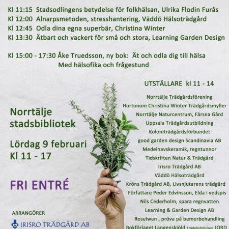 Roslagslördag 2019, Trädgård och Hälsa